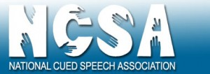 National Cued Speech Association Logo