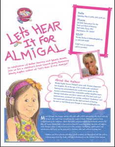 Book Launch: Let's Hear It for Almigal