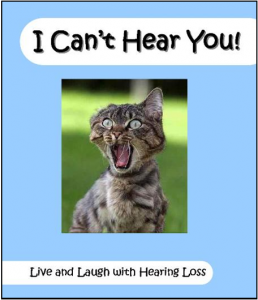 "Schedule for – 3 part – ""I can't Hear You!""  Programs this Fall"