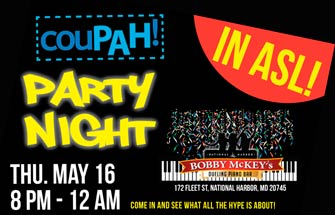 PARTY NIGHT – COUPAH – ASL Interpreted