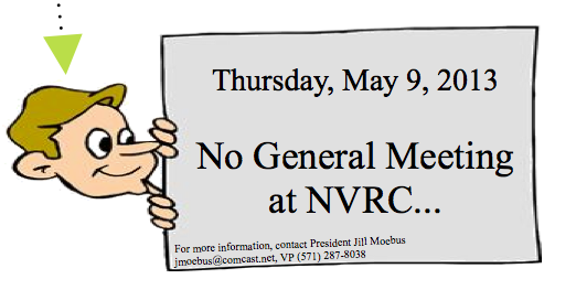 NVAD – No General Meeting in May 9th
