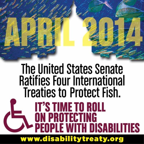 Action Alert: CRPD Fish Day– Ratify the CRPD!