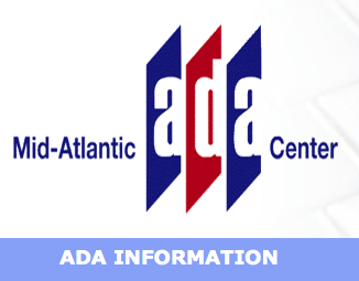 NEWS from the Mid Atlantic ADA Center