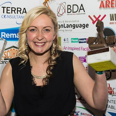 British Deaflympics medallist Cross named Deaf Sports Personality of the Year