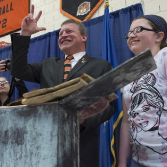 American School For The Deaf Opens 1920 Time Capsule