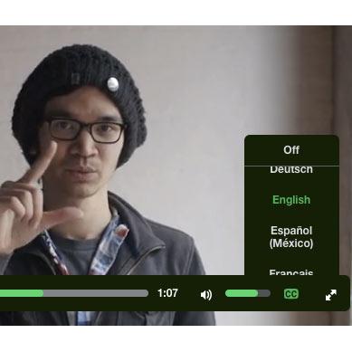 Introducing Subtitles and Captions to Kickstarter