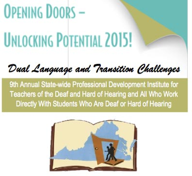 Opening Doors-Unlocking Potential 2015 Registration Open