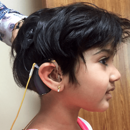 New Hearing Technology Brings Sound To A Little Girl