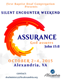 Annual Deaf Ministry Revival • October 2-4, 2015