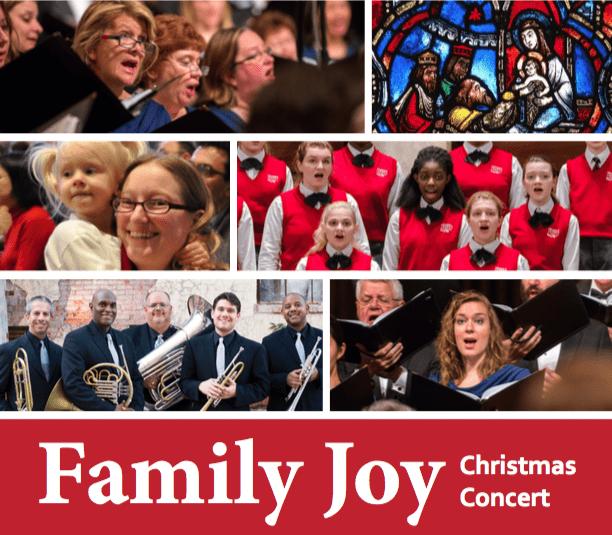 Family Joy Christmas Concert – Dec. 12