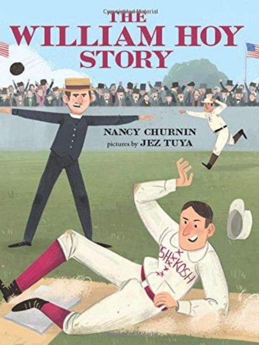Children's book highlights deaf baseball hero; benefits Deaf Action Center
