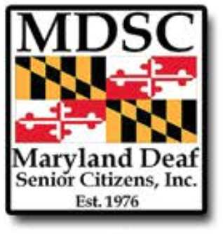 MARYLAND DEAF SENIOR CITIZENS Event –  June 16