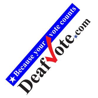 DeafVote.com – website with information for Deaf Voters
