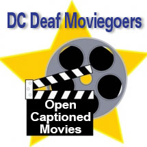 Multiple open captioned movies in Fairfax, VA • Jan 14th – Sundays each month