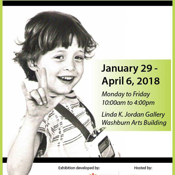 """At Gallaudet – exhibition """"Two hundred years of ASL"""""""